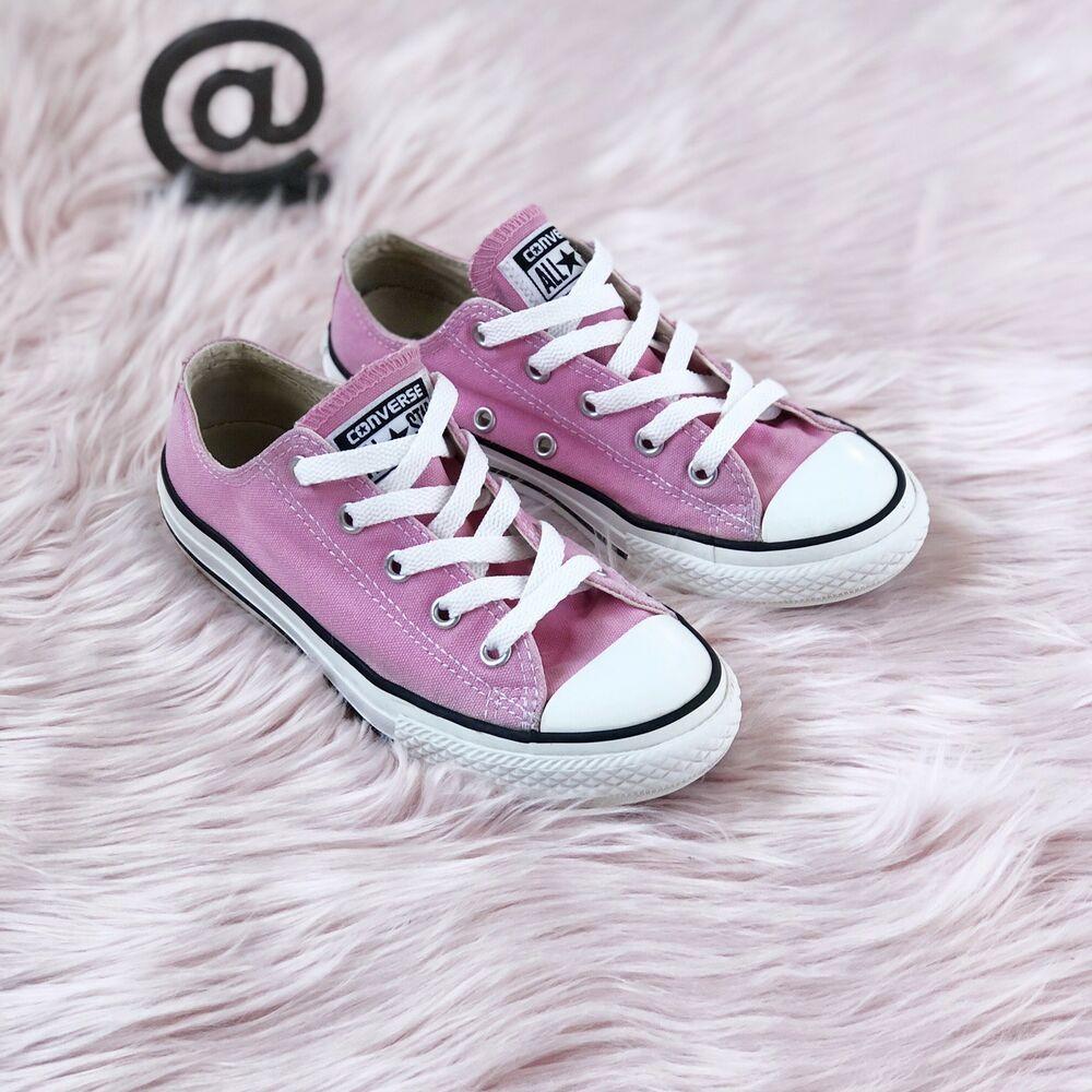 Kids Pink Low Converse Chuck Taylor
