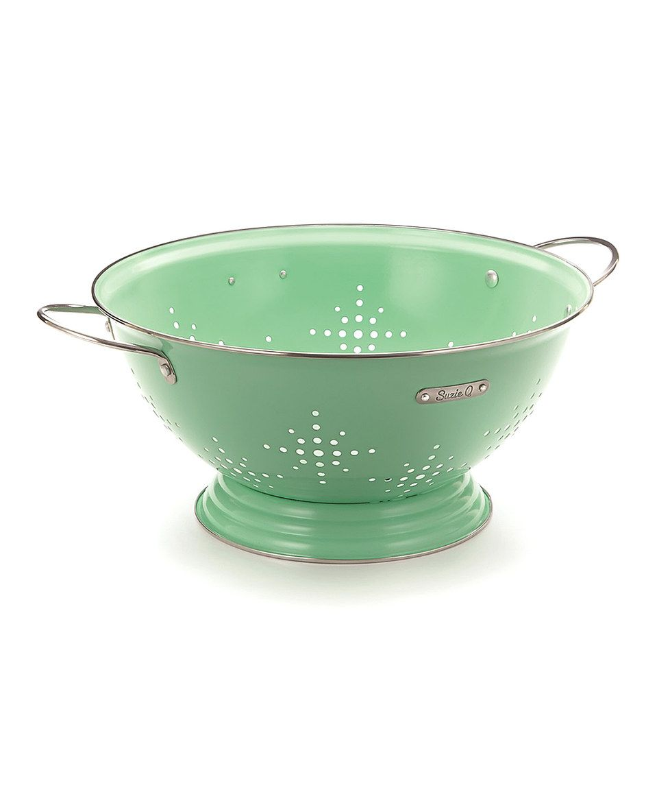 Another great find on #zulily! Mint 5-Qt. Colander by Suzie Q #zulilyfinds