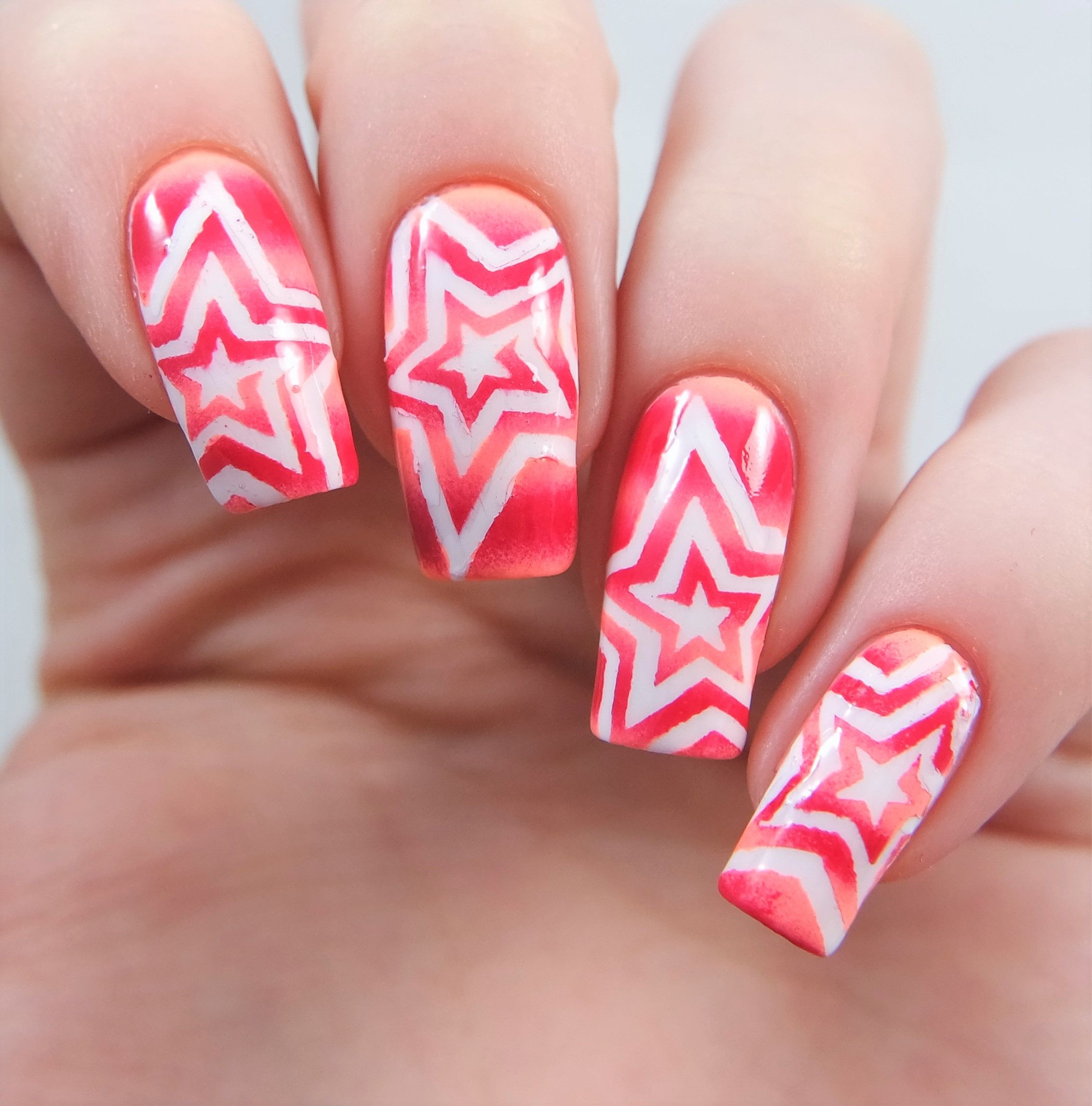 Star Swirl Nail Vinyls Manicure Ombre And Crazy Nail Art