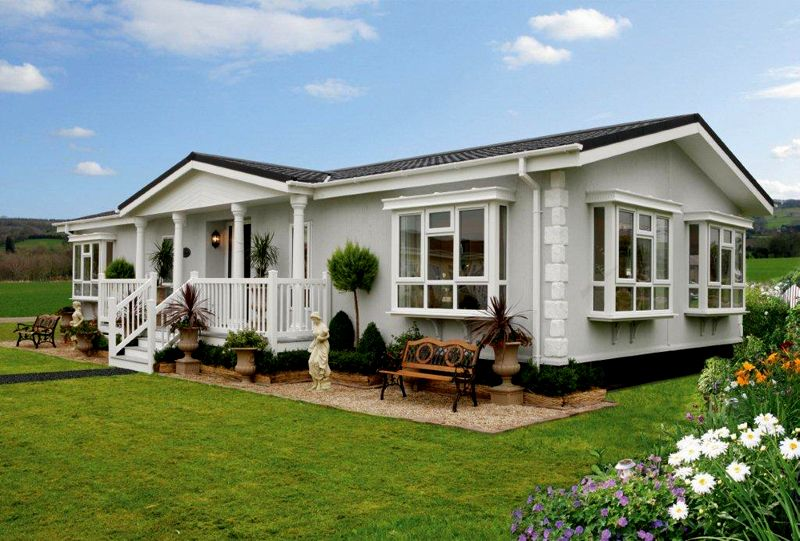 Many people who buy park homes in Cornwall often look at the price on