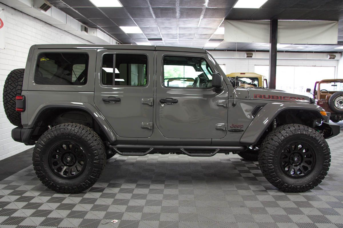 2018 Jeep Wrangler Rubicon Unlimited JL Sting Gray in 2020