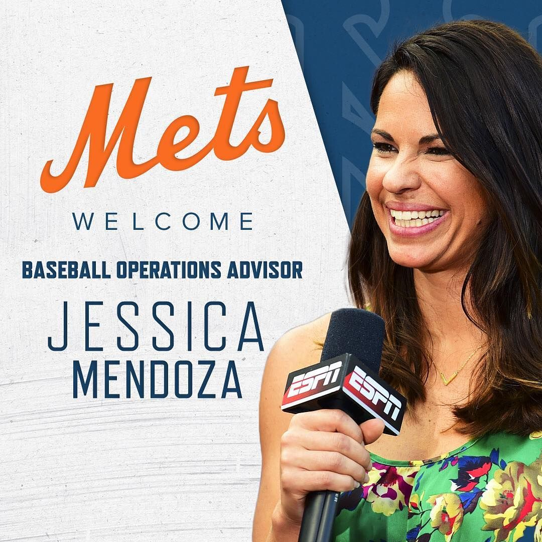 New York Mets Jessica Mendoza Jessmendoza2 Will Join Our Baseball Operations Department As Adsbygoogle Jessica Mendoza New York Mets Mets