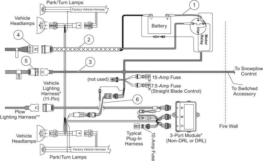 12  2000 Dodge Truck Western Plow Wiring Diagram