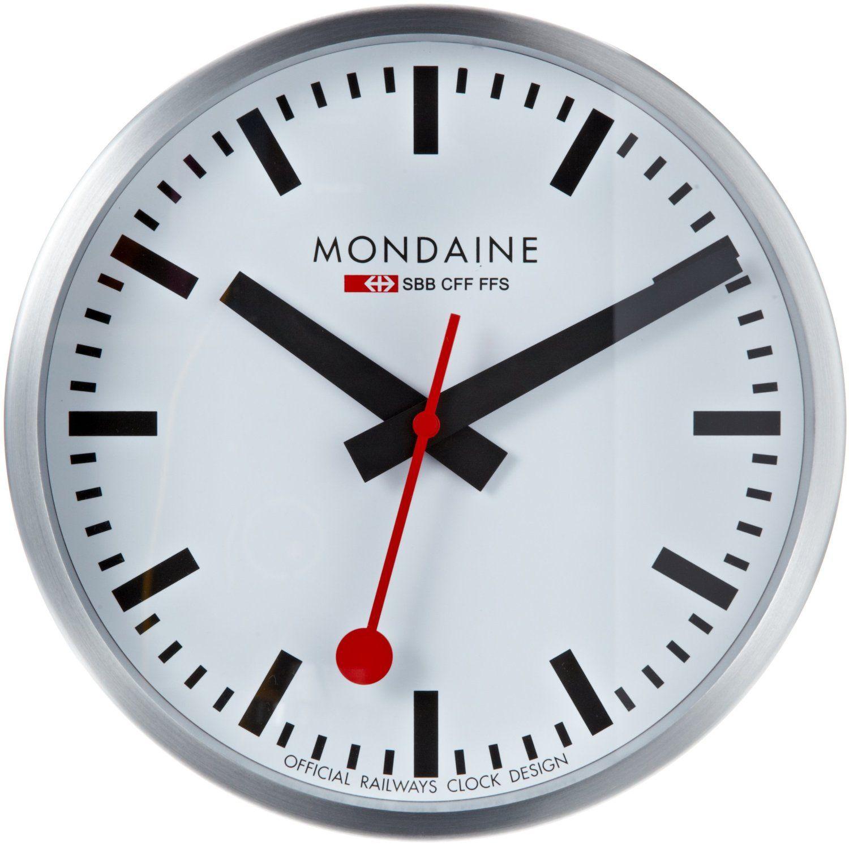 Train Station Clocks 3 110671 Infobarrel Images Mondaine Wall Clock Clock Wall Clock