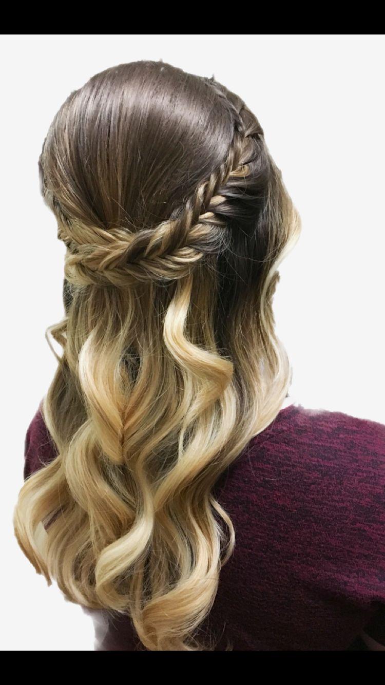 Boho braid fishtail braid boho bridal hairstyle stylesbymarcella