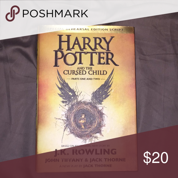 Harry Potter And The Cursed Child Brand New Hard Case Book If You Have Any Questions Please Leave A Cursed Child Cursed Child Book Harry Potter
