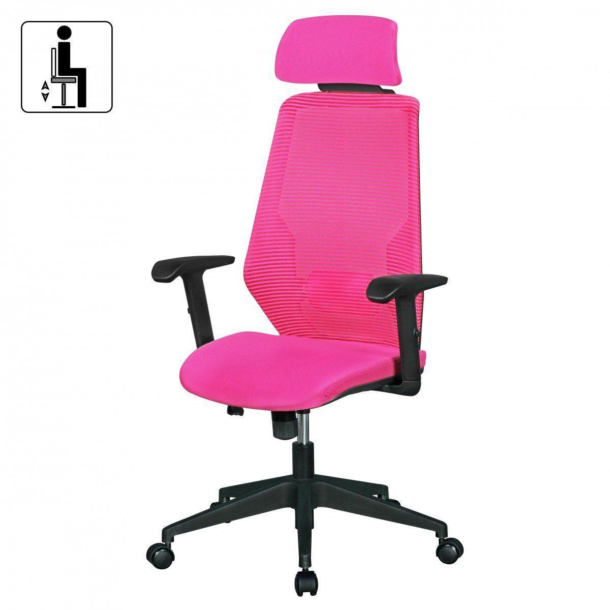 pink swivel chair uk