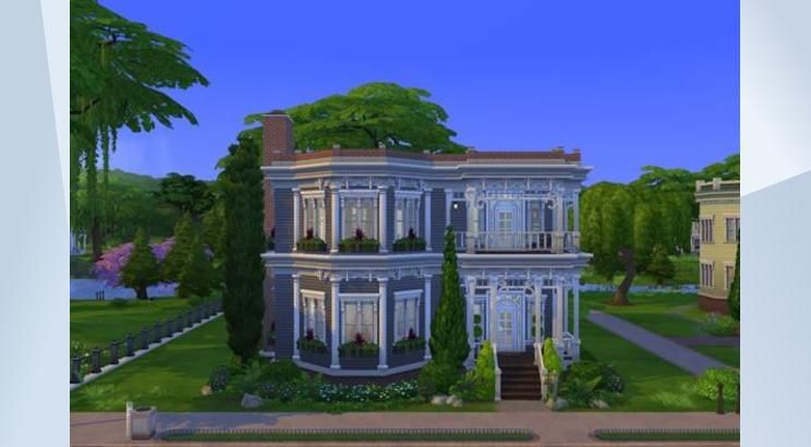 Pin By Annewillemsja On Sims 4 Huizen In 2020 Sims Sims 4 House Styles
