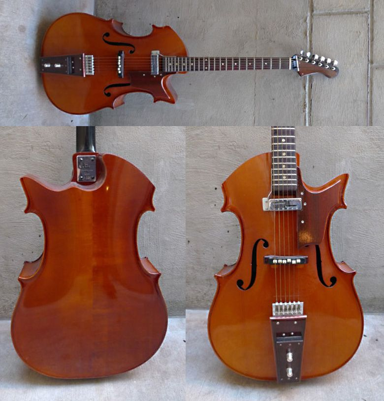 Unusual Electric Guitars Bjurmark Cello Guitar Electric