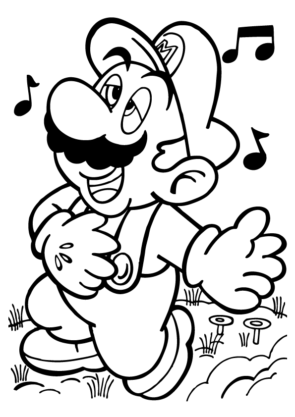 Free Printable Mario Coloring Pages For Kids | Mario Party ...