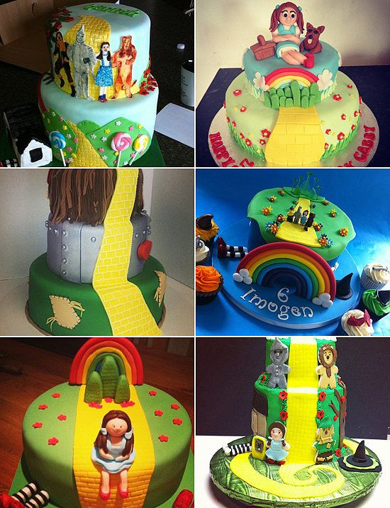 If I Only Had A Cake 20 Sweet Ways To Celebrate The Wizard Of Oz