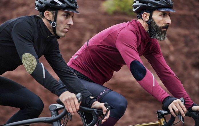 Maillot Merino Yolande Rose | Café du Cycliste