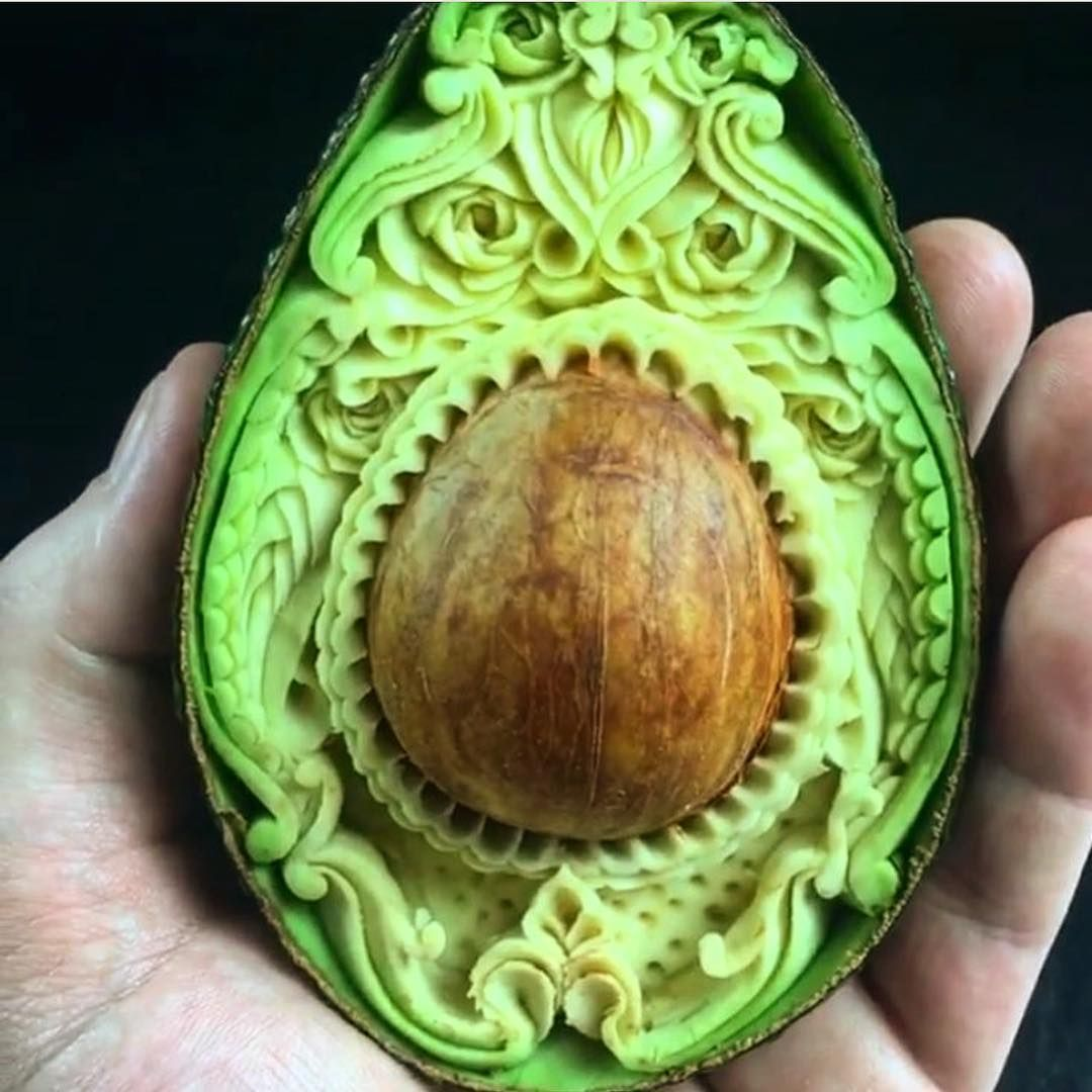 Épinglé par sur Régime 2017 Sculptures de fruits