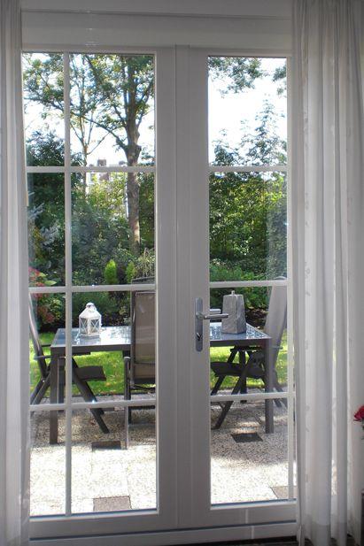 Openslaande deuren, Krimpen ad Lek - Raamdecoratie | Pinterest ...