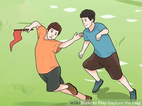 How To Play Capture The Flag Capture The Flag Funny Games Flag Game