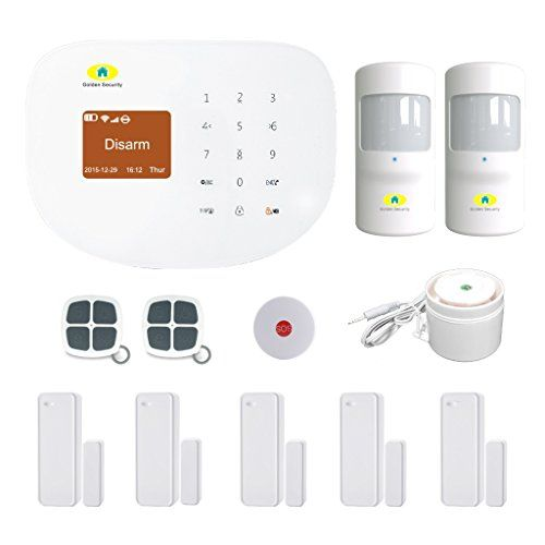 Cheap Golden Security GSM U0026 Wireless Network Wifi 2 In 1 Touch Screen  Keypad Portable Auto Dialer Diy Home Security System S2W A ...