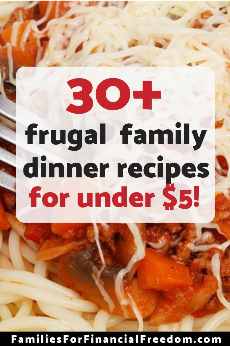 31 Budget-Friendly Easy and Cheap Dinner Recipes images