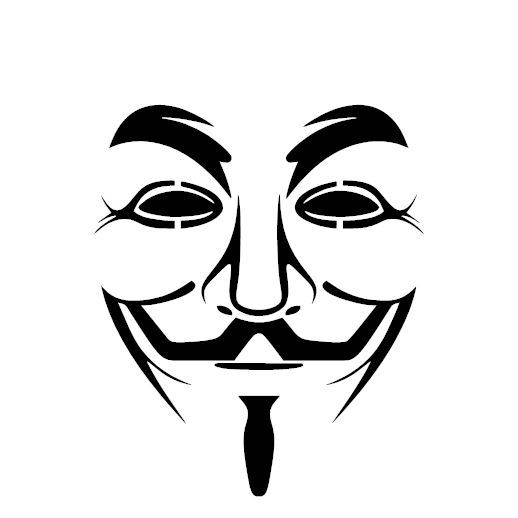 V for vendetta decal