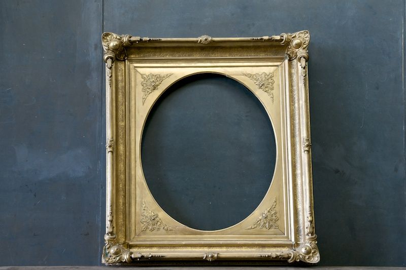 Victorian St James Park Gilted Frame : 20th Century Vintage Industrial : Modern Fifty