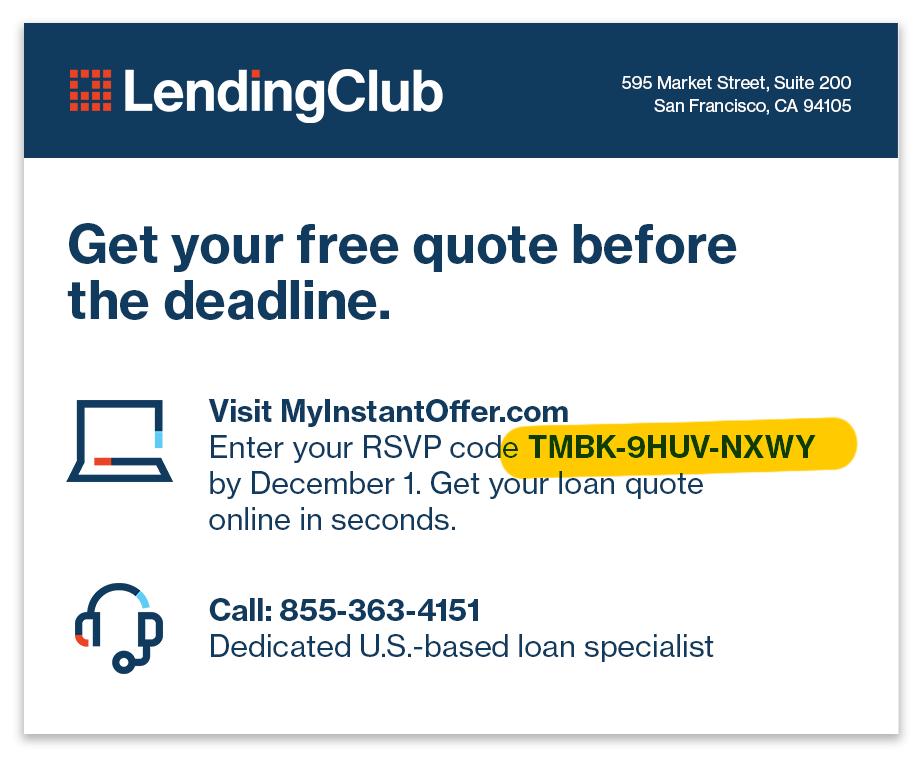 Get Your Personalized Loan Offer Easy