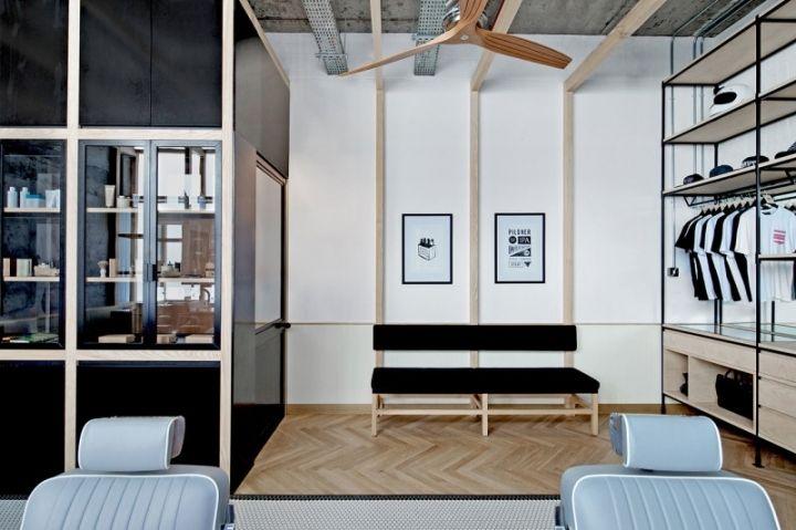 Akin Barber Shop By Zak Hoke Dubai UAE Retail Design Blog