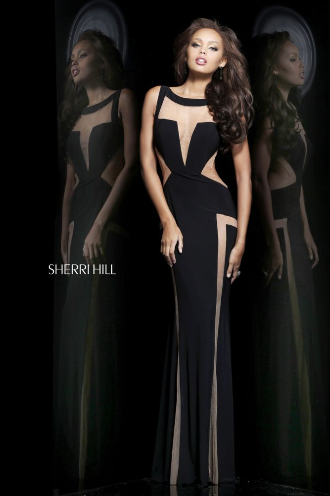 Sherri Hill - Dresses; this dress is so modern and gorgeous