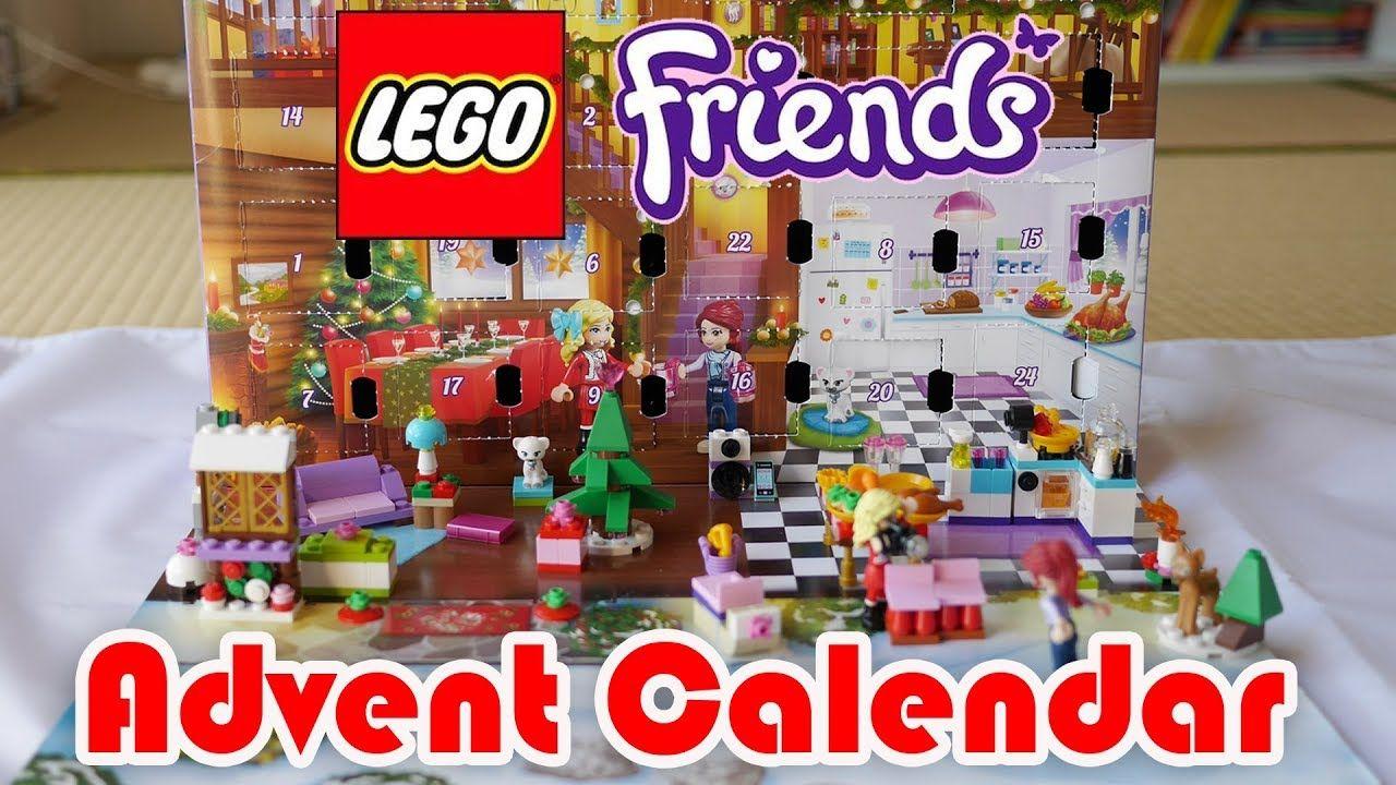 Lego Friends Advent Calendar Opening 2018 Lego Friends Advent Calendar Advent Season