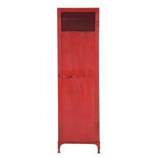 Guardaroba industriale rosso - Edison