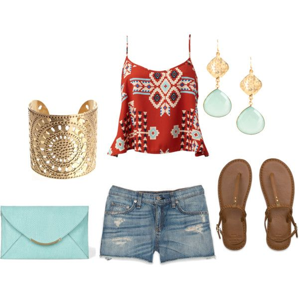 """Tribal Summer Outfit"" by natihasi on Polyvore"