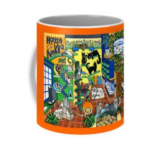 House Of Nekko Coffee Mug for Sale by Dora Hathazi Mendes