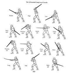 the 14 essential longsword guards. http://i1001.photobucket.com/albums/af133/AluminiumWolf/longsword01.jpg