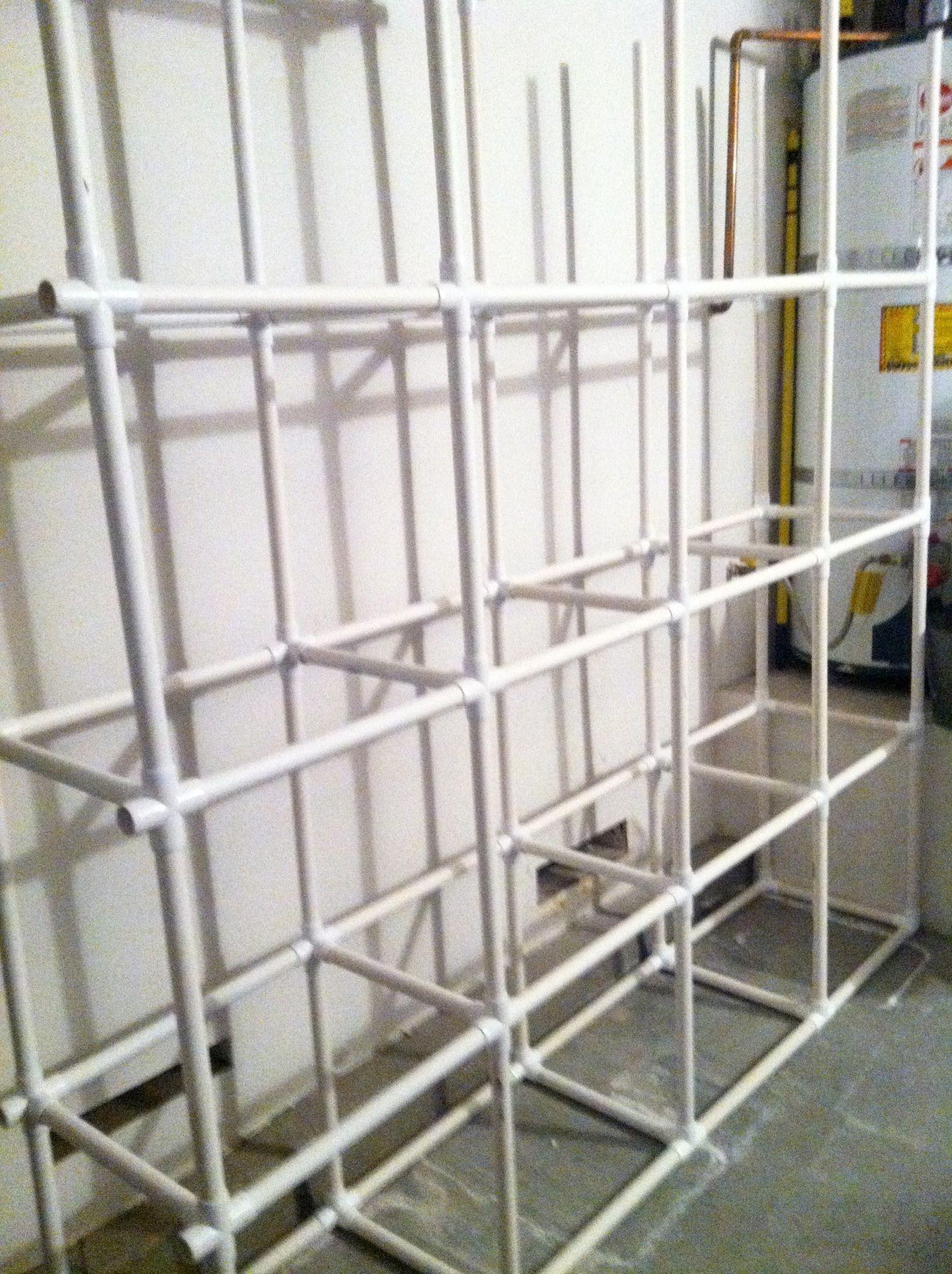DIY Saturday PVC Tote Storage Organizer Tote storage