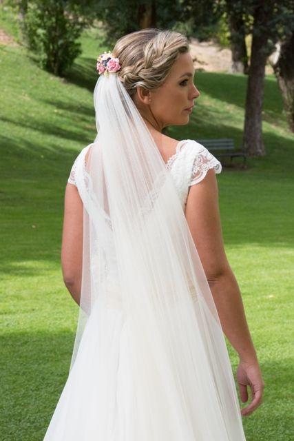 Vestido novia modista madrid