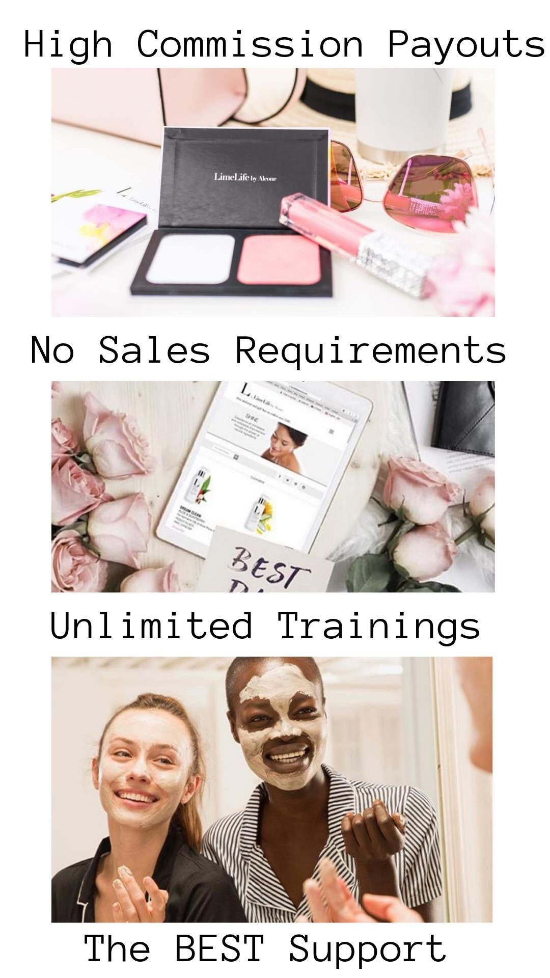 Limelife Makeup Business In 2020 Beauty Business Makeup Over 40 Skin Care
