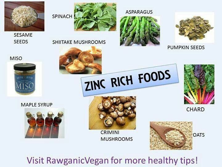 Zinc Containing Fruits And Vegetables Zinc enriched food healthy living pinterest vegans food and zinc enriched food workwithnaturefo