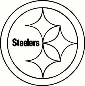 pittsburgh steelers logo stencil new house pinterest rh pinterest com au steelers logo pumpkin stencils