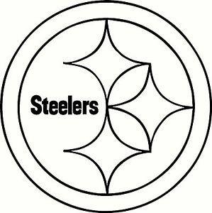 Pittsburgh Steelers Logo Stencil Pittsburgh Steelers Logo
