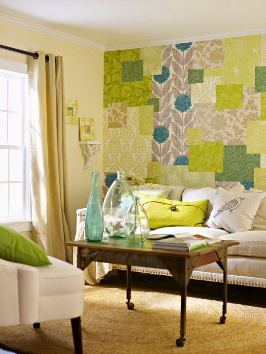 Wallpaper Ideas - but I\'m thinking this might could work with ...
