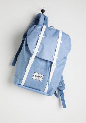 5022c3b0ea2 Minimal, Nifty Nerd, Travel, Scholastic Pack and Forth Backpack by Herschel  Supply Co. from ModCloth