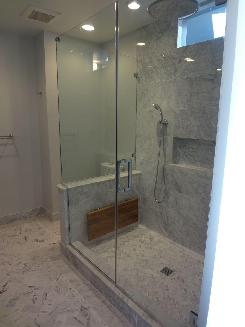 Bianco Carrara Herringbone Bathroom Project Architectural Ceramics Bathroom Pinterest