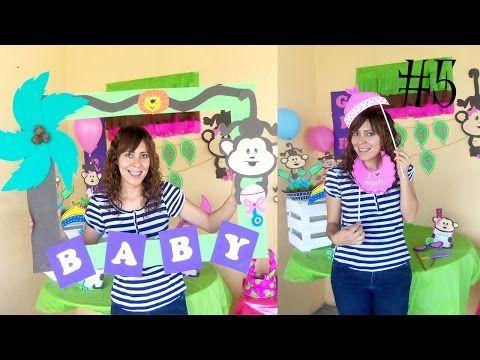 Aprende Como Hacer Marcos De Baby Shower Para Selfies Baby Shower