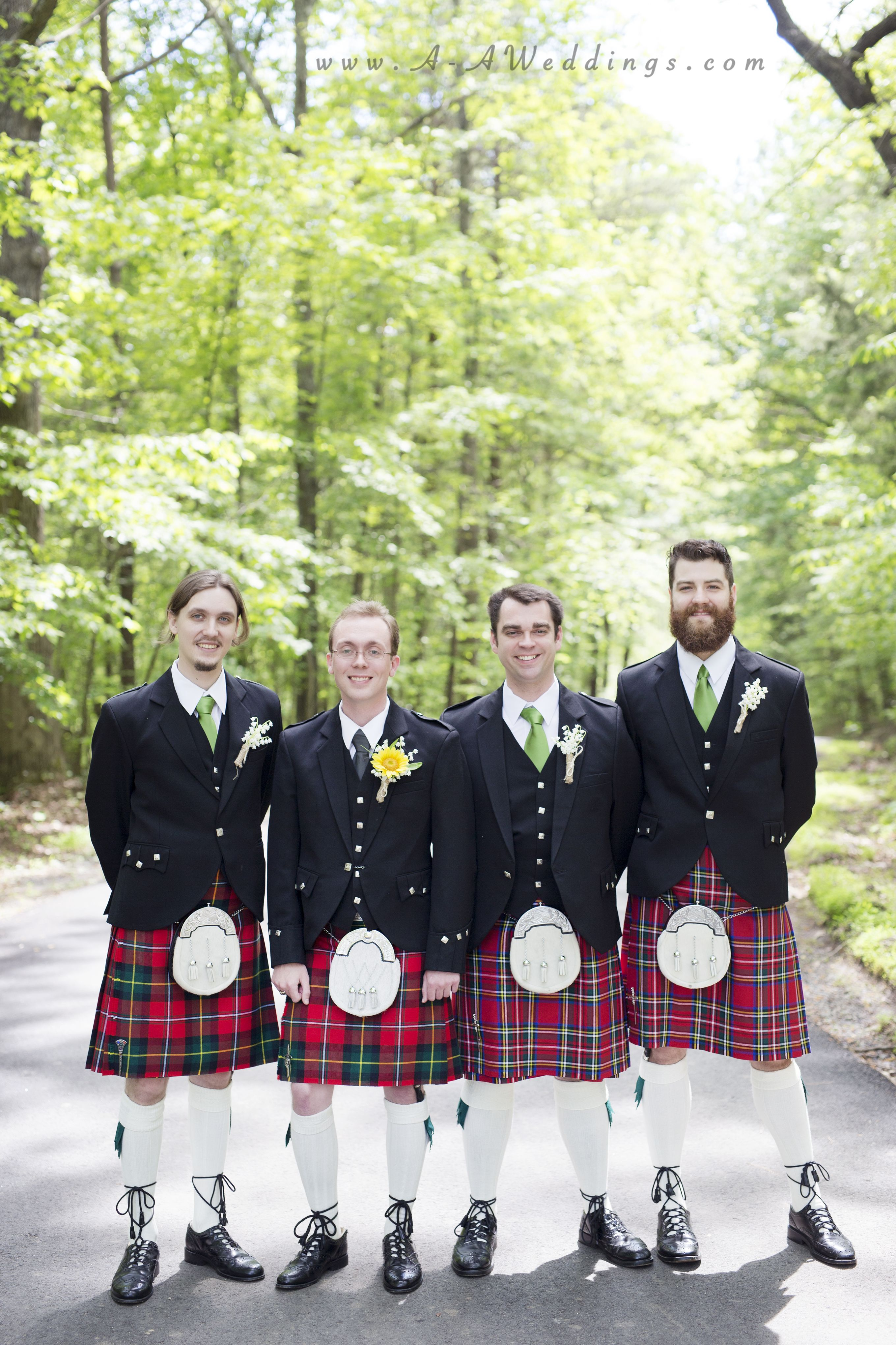 Spruce Pine Lodge Durham, NC Wedding Photographer Scottish wedding, bride, groom, wedding party, spruce pine lodge
