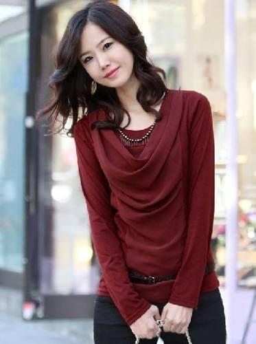 blusas de manga larga modernas buscar con google