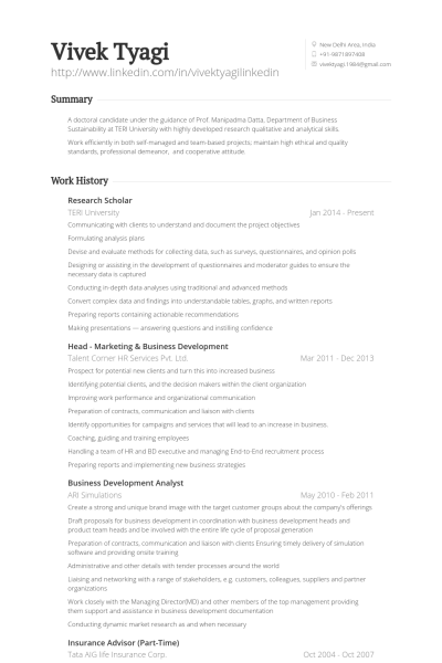 research scholar resume samples  u0026 templates