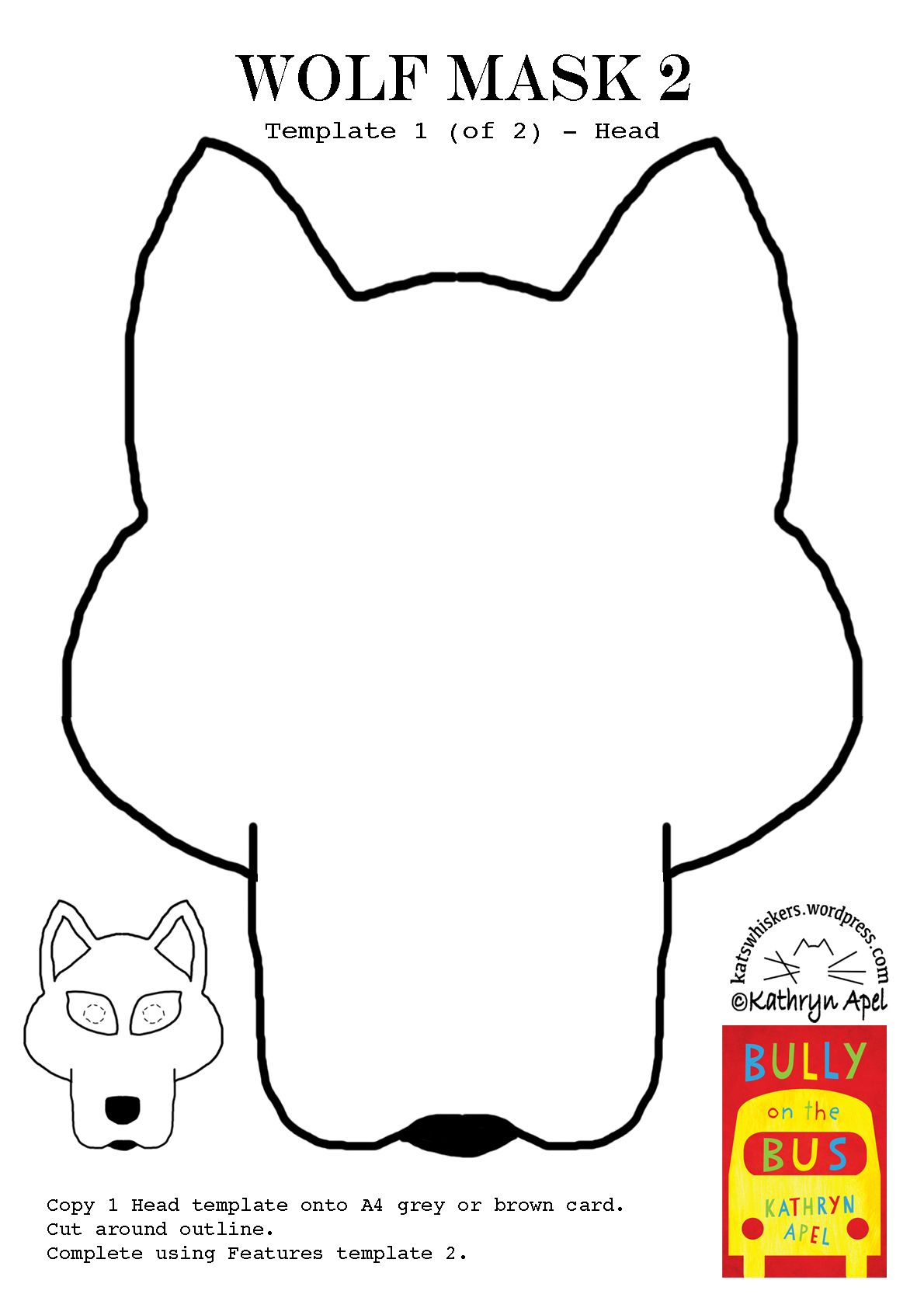 Wolf Mask2 Headg 11901684 Pixels Animal Masks Pinterest