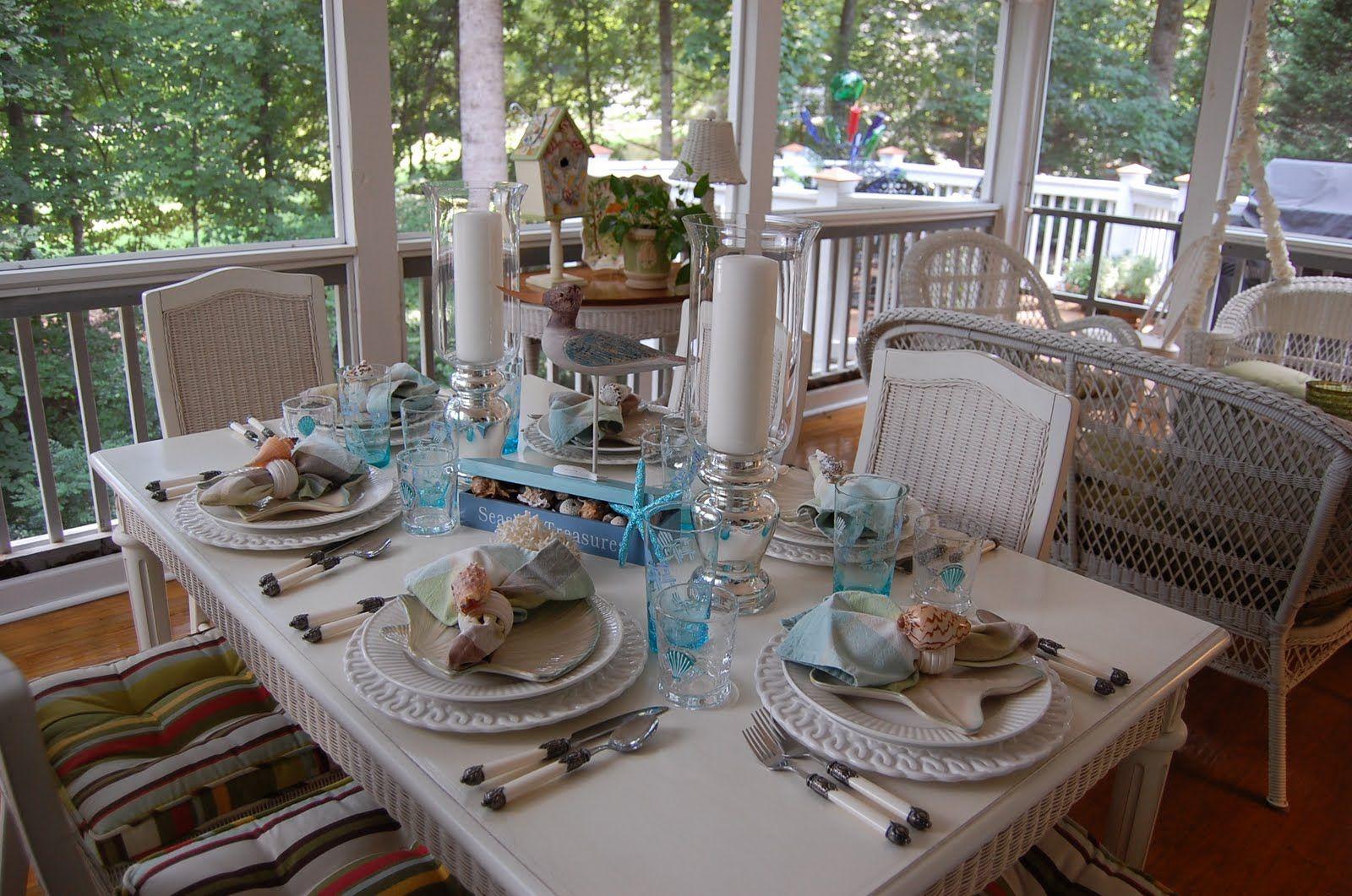 seaside table settings - Google Search & seaside table settings - Google Search | Seaside Home Decorating ...