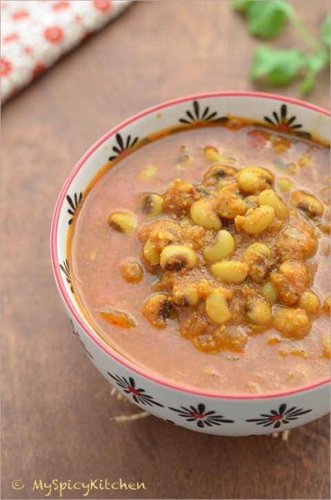 Alsande tonak from goa black eyed pea black eyed and curry food forumfinder Image collections