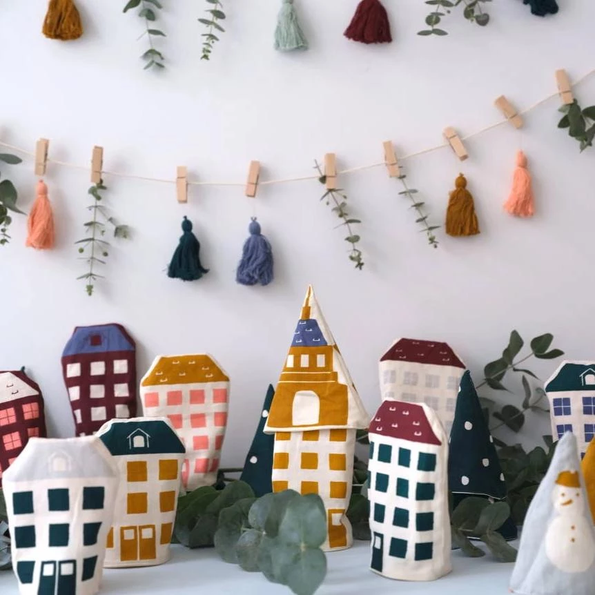 Scandi Christmas Play Town Advent Calendar In 2020 Advent Calendars For Kids Christmas Decorations For Kids Scandi Christmas