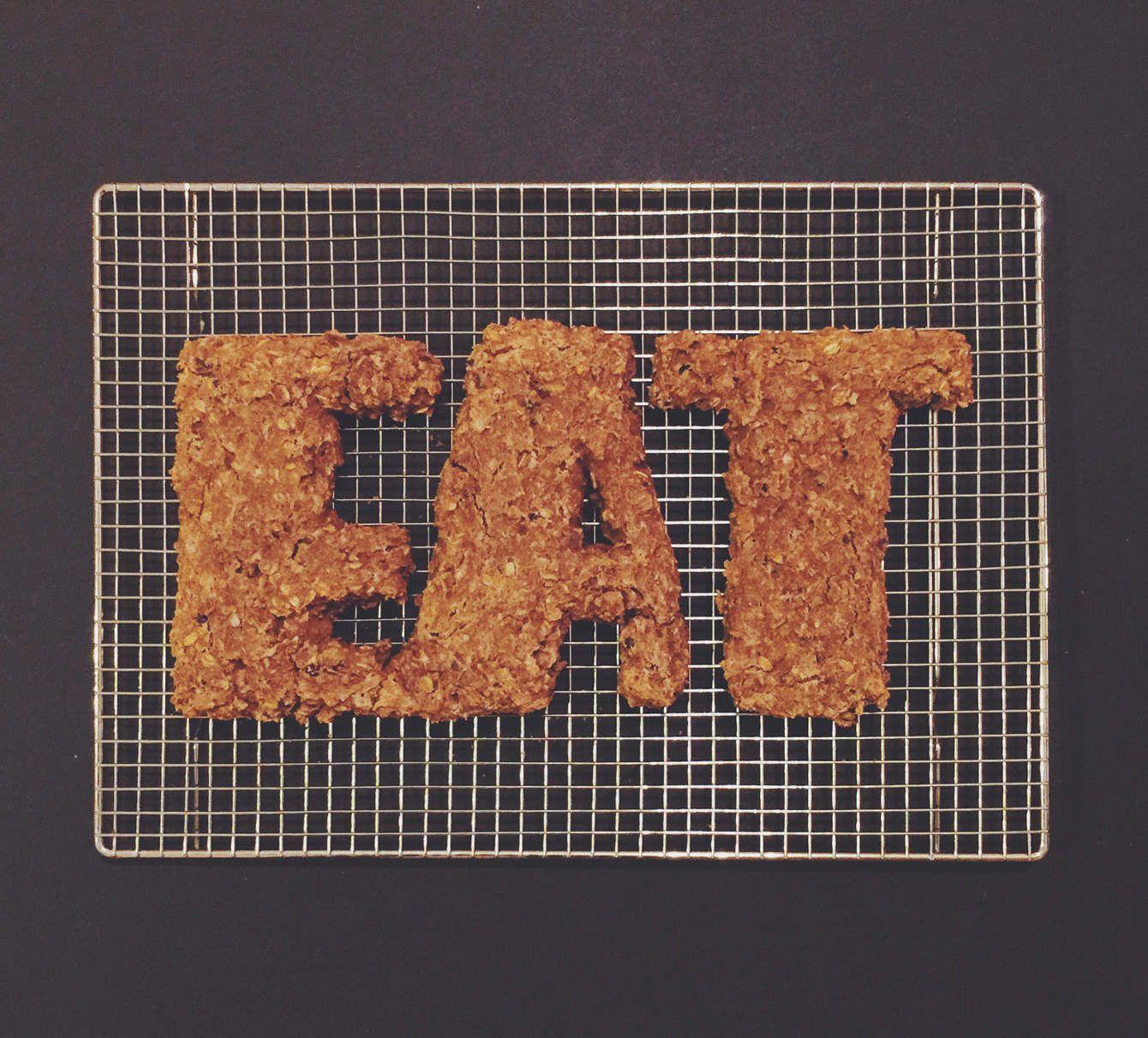 RANDOM FOOD LETTERING - Becca Clason - Lettering Artist & Stop-Motion Animator
