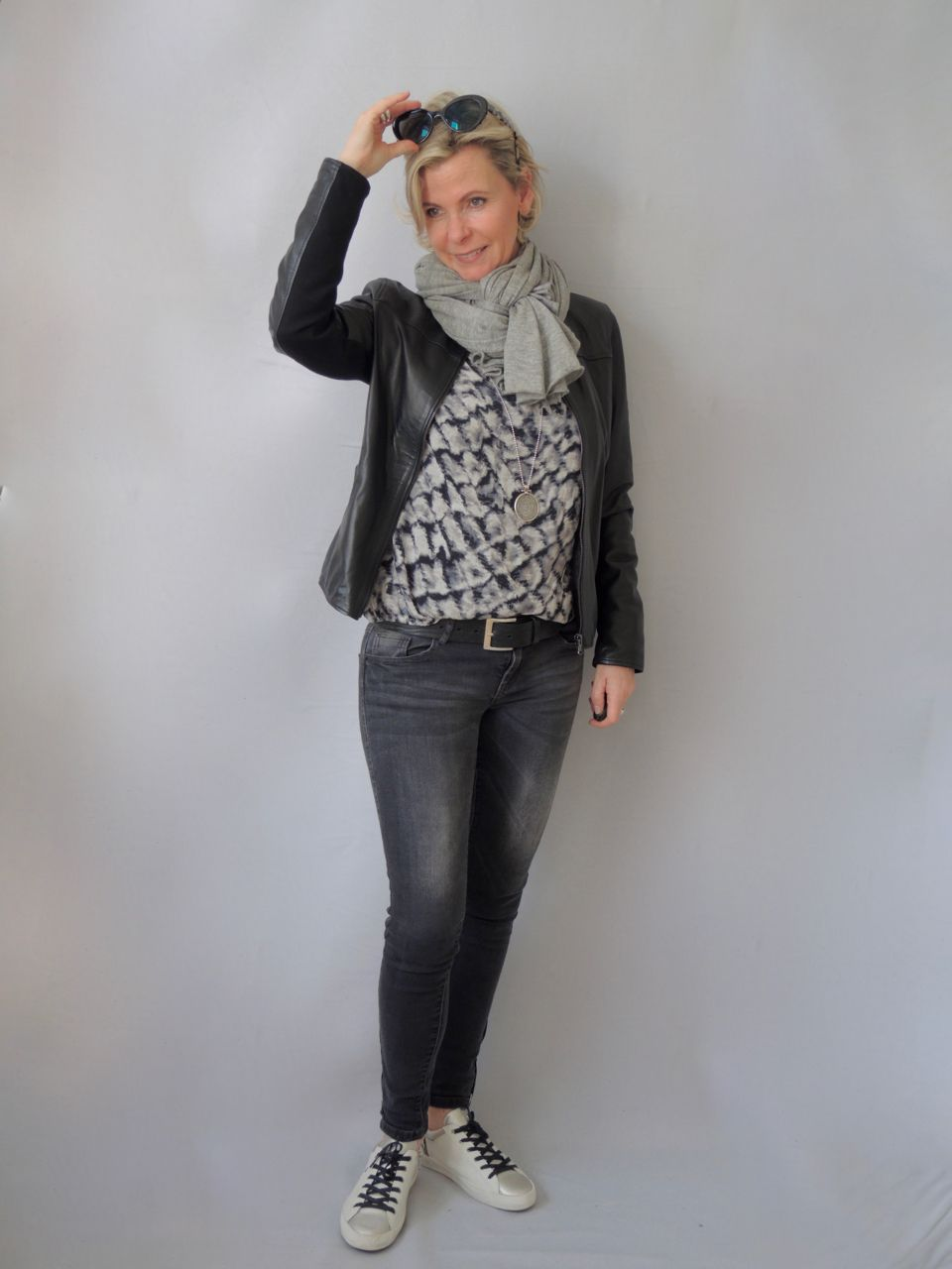 Photo of Lederjacke und Muster – women2style